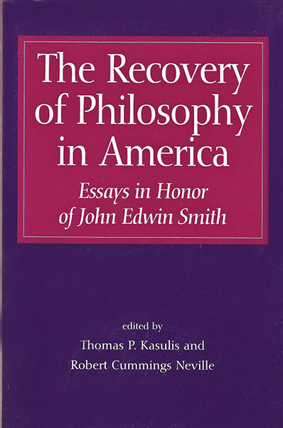 The Recovery of Philosophy in America book cover