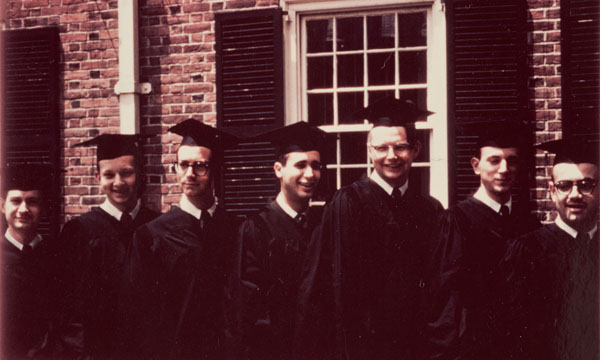 Gordon Mark, me, Dennis Longwell, Bill Derveniotes, Dick Beals, Ned Carleton, David Krantz.