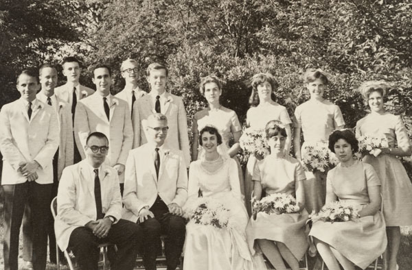 Dick and Nancy Beal's wedding.